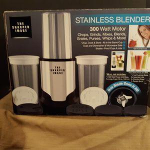 Sharper Image Stainless Steel Blender for Sale in Detroit, MI