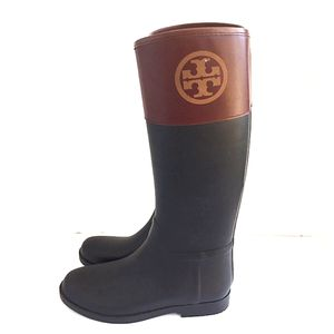 Tory Burch Rain Boots Size 10 Like New for Sale in San Diego, CA