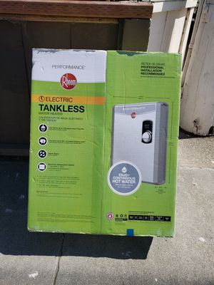 Rheem Electric Tankless Water Heater for Sale in Fremont, CA