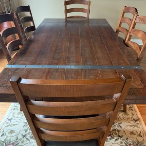Large Solid Wood Dining Room Table for Sale in Tualatin, OR