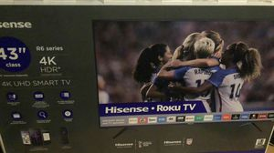 Hisense 4k TV with roku for Sale in Aurora, CO