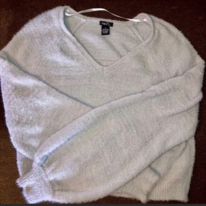 Rue21 Fuzzy Grey Sweater for Sale in Normal, IL
