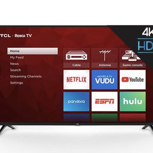 "TCL 55"" Class 4K UHD LED Roku Smart TV HDR 4 Series for Sale in Sheridan, CO"