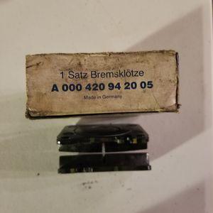 Mercedes brake pads. for Sale in Lomita, CA