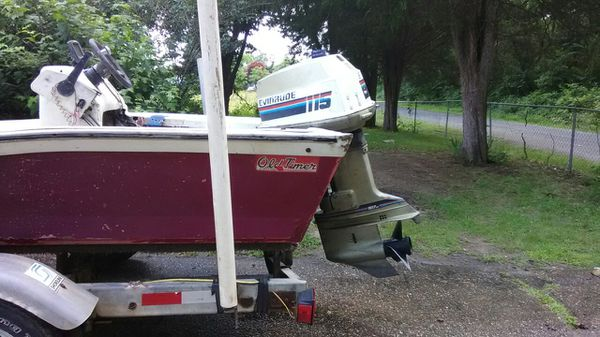 1988 old timer with a 1980 115 Evinrude