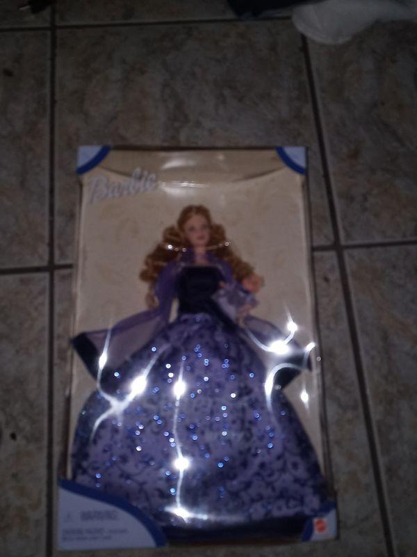 Barbie on box
