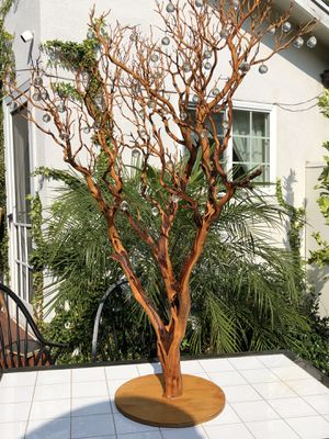 Artificial tree, decorative wooden tree already designed with crystals. for Sale in Los Angeles, CA