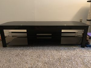 Glass TV stand for Sale in Newark, OH