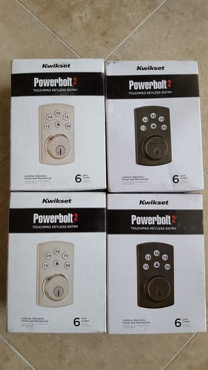 New keyless entry door lock sets for Sale in Riverside, CA