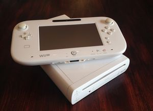 Nintendo Wii U with controllers games and a pro controller for Sale in Fredericksburg, VA