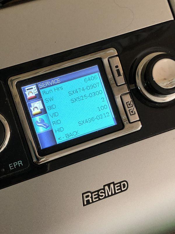 Resmed S9 CPAP Machine and H5i Humidifier Sleep Apnea
