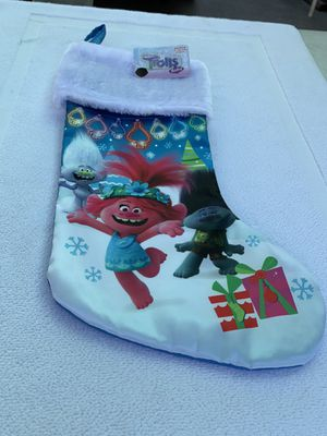 Christmas Trolls stocking for Sale in Los Angeles, CA