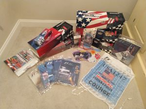 Formula One F1 USGP Minichamps 1:18 1:43 scale diecasts/ programs/ race used medical vest/ ticket stubs/ lanyards/ t-shirts/ golf balls/ pennents etc for Sale, used for sale  Clemmons, NC