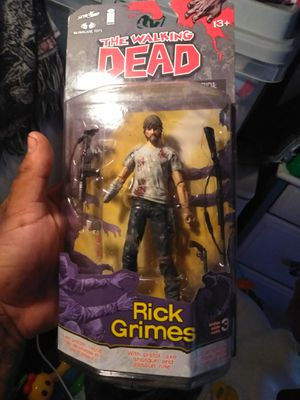 The walking dead action figures comic book series for Sale in Austin, TX