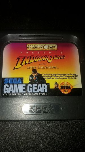 Indiana Jones for Sega Game Gear for Sale in Columbus, OH