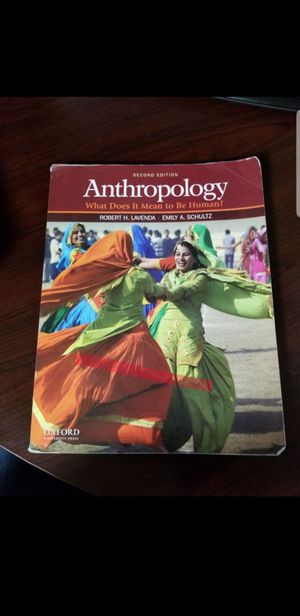 Anthropology What Does it Mean to be Human. By Robert H. Lavenda and Emily A. Schultz. for Sale in Old Mill Creek, IL