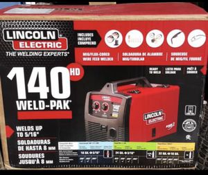 Lincoln Electric 140 Weld Pack HD Welder for Sale in Ruston, WA
