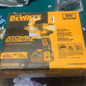 Brand New DeWalt Cordless Drill, Batteries, Charger and Bag for Sale in Ontario, CA