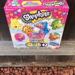 Shopkins Scrabble Board Game for Sale in San Pablo, CA