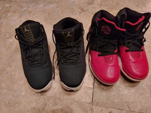 2 pair of childrens sneakers size 6 for Sale in El Monte, CA
