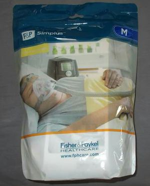 F &P Simplus Full Face CPAP Mask Size Medium for Sale in Vista, CA