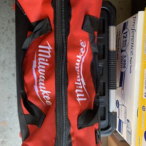 Milwaukee Bag With Emty Box for Sale in Pinellas Park, FL