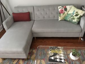 Liberty reversible sleeper sectional for Sale in Raleigh, NC