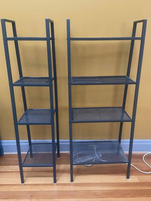 "4-Tier 58"" Tall Metal Ladder Shelves for Sale in Pittsburgh, PA"