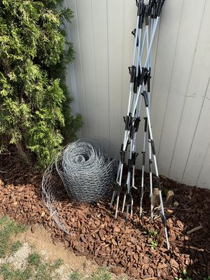 FREE chicken wire and stakes for Sale in Vancouver, WA