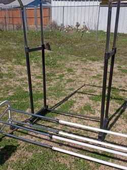 Double Clothes Rack & Shoe Rack for Sale in Dallas,  TX