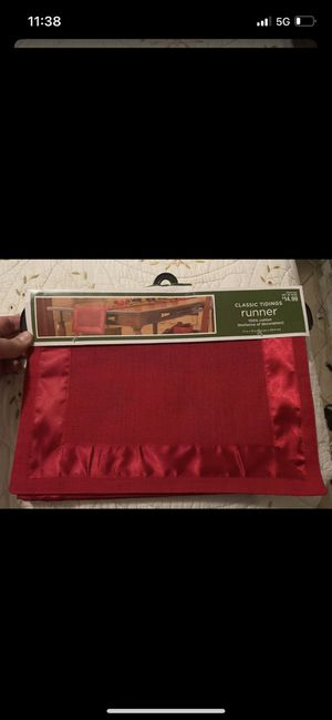 Table runner (holiday decor) for Sale in Irwindale, CA