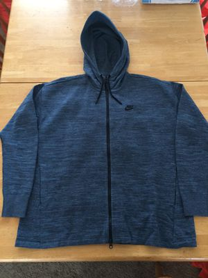 Brand new Nike tech knit hoodie jacket full zip (women's XL) for Sale in Spring Valley, CA