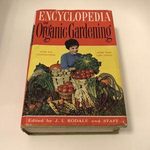 Encyclopedia Of Organic Gardening for Sale in Richmond, VA