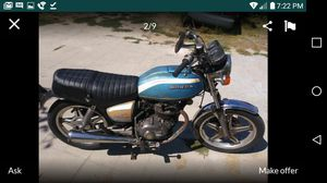 1978 Honda CB400A Hawk Vintage Motorcycle for Sale in Bellflower, CA
