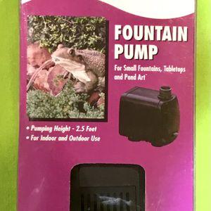 Small Fountain Pump for Sale in Monterey Park, CA
