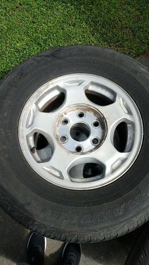 Chevy truck wheels and tires for Sale in Amherst, VA