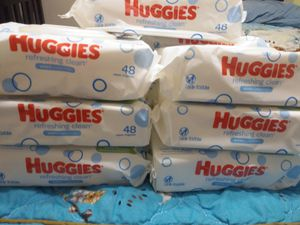 HUGGIES WIPES FOR BABY for Sale in Las Vegas, NV