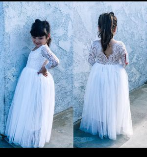 Flower girl or Communion dress for Sale in San Antonio, TX