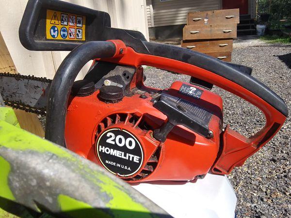 Small Gas Chain Saws $35 Each