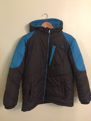 Winter jacket with a hoodie size 14 youth for Sale in Silver Lake, OH