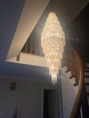 Crystal chandelier for Sale in Gambrills, MD