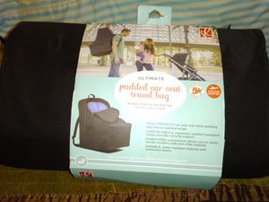 Padded car seat travel bag for Sale in Greer, SC