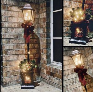 New 4ft. Pre-lit Christmas lamp post. Hot item! For outdoor/ yard, entryway decoration for Sale in Los Angeles, CA