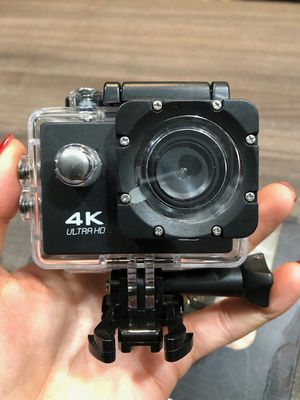Brand new 4k action sports waterproof camera with bluetooth remote for Sale in Davie, FL