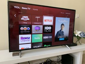 TCL 50 inch 4K Smart LED Roku TV for Sale in Arlington, VA