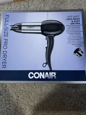 Conair full-size pro dryer for Sale in San Diego, CA