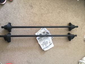 Yakima Q towers roof rack for Sale in Santa Monica, CA