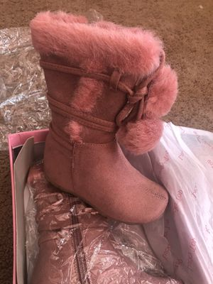 Brand new toddler girl boots for Sale in El Cajon, CA