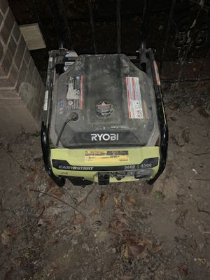 Ryobi nail gun and ryobi generator for Sale in Washington, DC