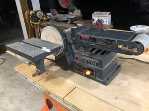 "Craftsman 6"" disc sander and 4"" motorized belt for Sale in Hallandale Beach, FL"